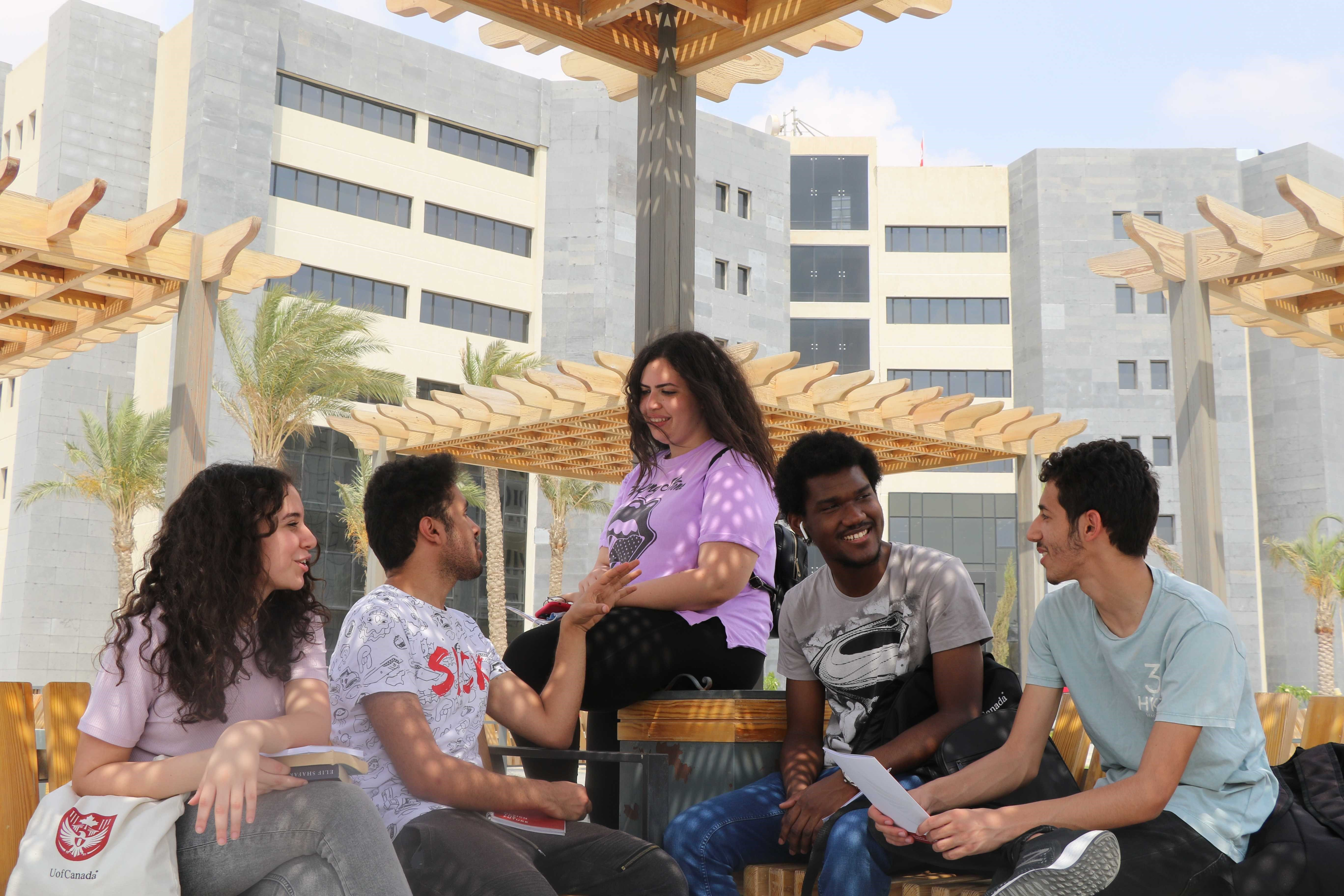 UPEI Cairo Campus Students