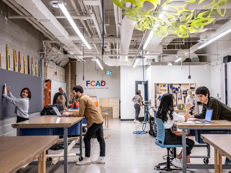 Creative Innovation Studio - Ryerson FCAD